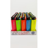 Cricket Çakmak (KDV DAHİL) 50 Adet Pastel Renk