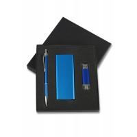 Kişiye özel powerbank usb kalem seti