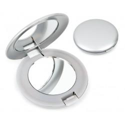 Metal Gümüş Renk Işıklı Ayna