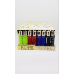 Clipper Micro Karışık Renkli Çakmak 48 Adet
