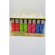 Clipper Micro Karışık Renk Çakmak 48 Adet