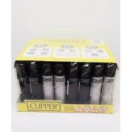 Cilpper Micro Soft Gri ve Siyah Çakmak 48 Adet