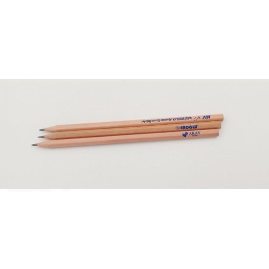 100 adet Naturel Kurşun kalem