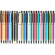 50 Adet Metal Tükenmez Touch pen (Metal kalemler) by www.tahtakaledeyiz.com