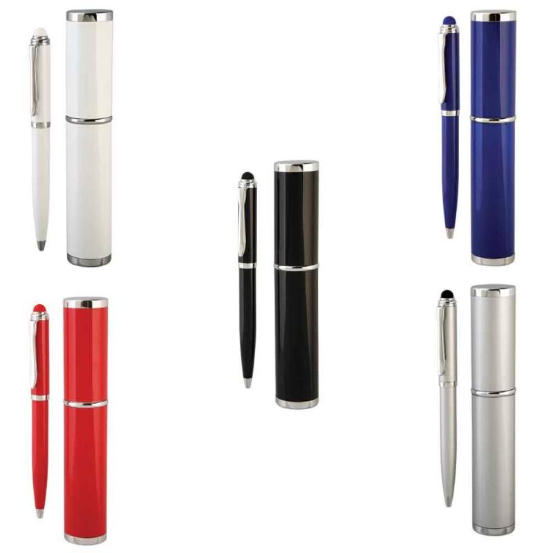 Kutulu Touch pen Tükenmez Kalem (Kişiye Özel Kalem setleri) by www.tahtakaledeyiz.com