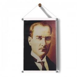Askılı Atatürk Poster 30x50 cm