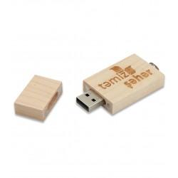 Ahşap USB Flaş Bellek 32 GB
