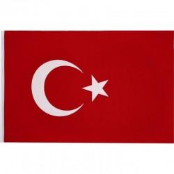 Türk Bayrağı 20x30 cm ( 5'Li )