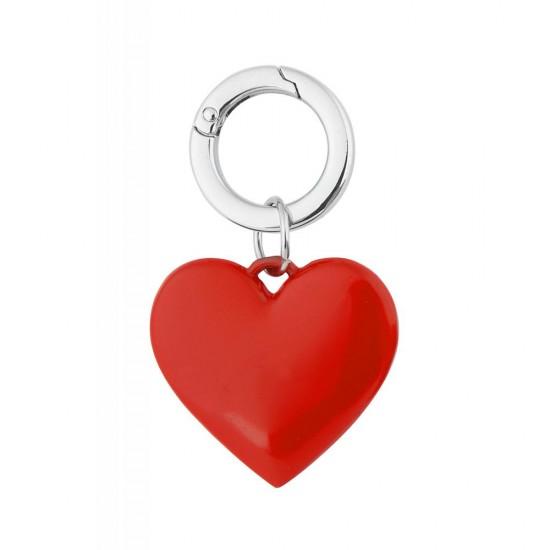 Kutulu Metal Kalp Anahtarlık
