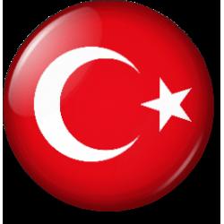 Bayrak Rozet-Buton Rozet (40'LI)