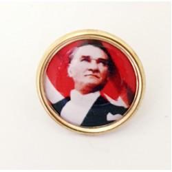 Atatürk Yaka Rozeti -30'lu