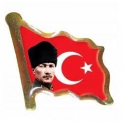Atatürk bayrak Rozeti-30'lu
