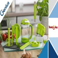 Genius Twist N Joy Mekanik Blender Seti
