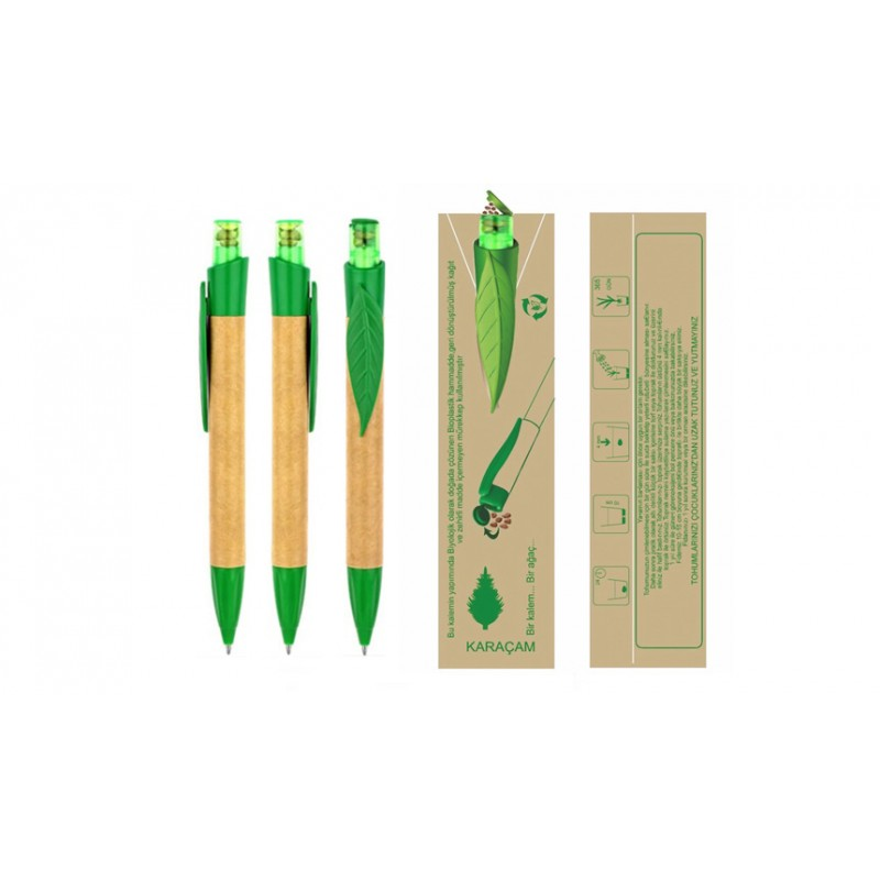 50 Adet Tohumlu Tükenmez kalem (Seçim Promoson Ürünleri) by www.tahtakaledeyiz.com